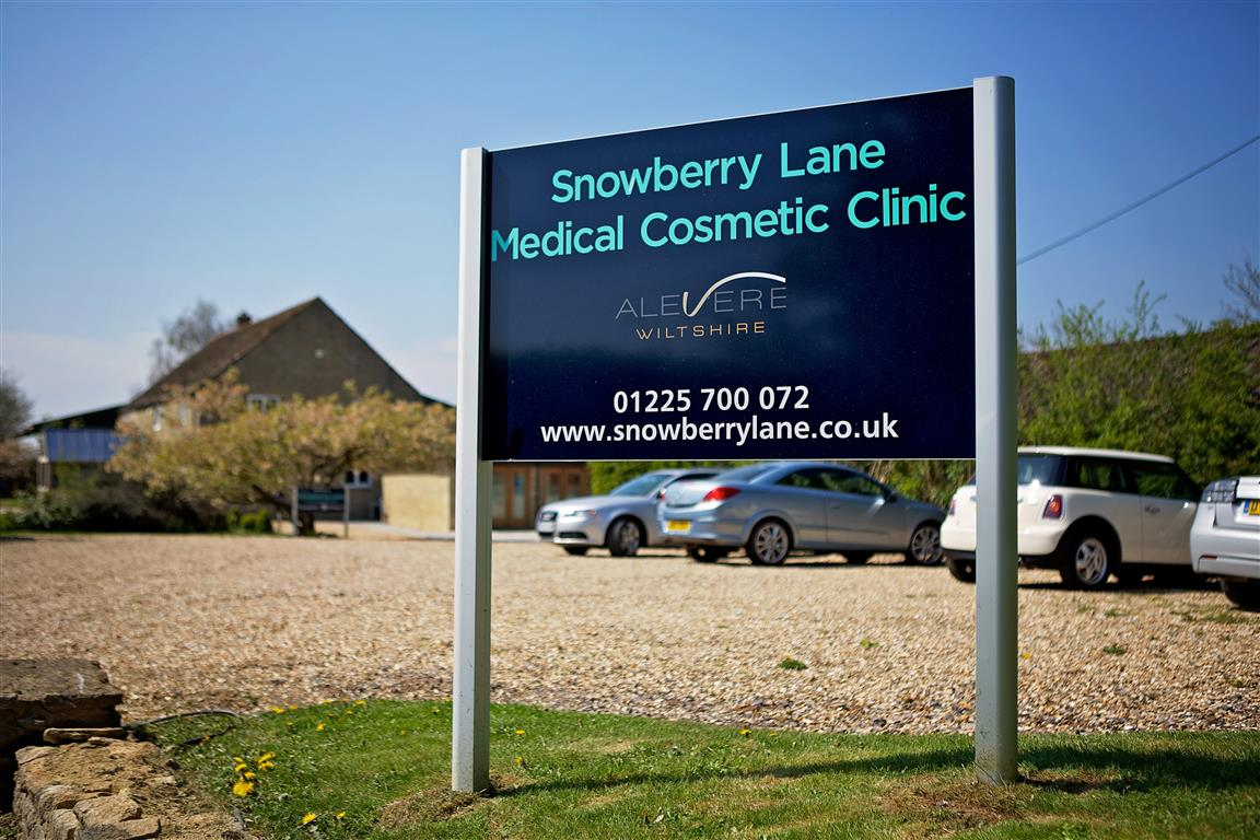 Snowberry Lane Clinic Sign