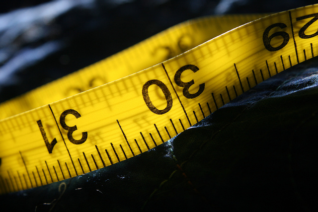 weight loss - measuring tape