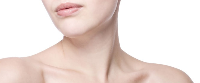 woman's neck - necklift treatments