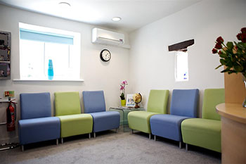 Snowberry Lane Clinic Reception Seating